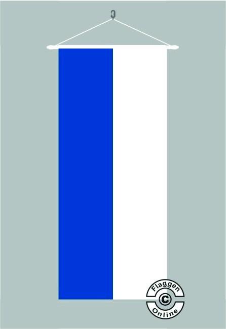 Blau Weiß Bannerfahne