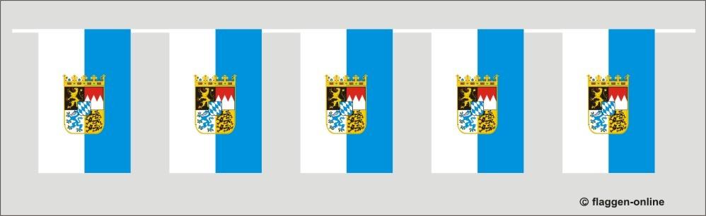 Bayern Flaggenkette