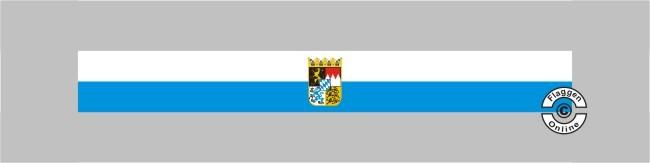 Bayern mit Wappen Tischband