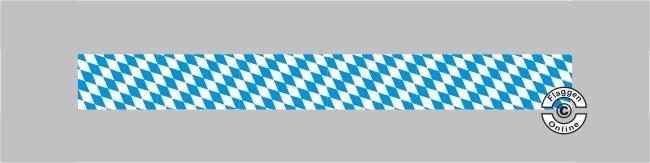 Bayern Raute ohne Wappen Tischband