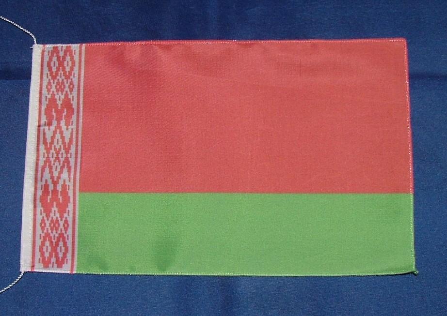 Weissrussland Belarus Tischflagge