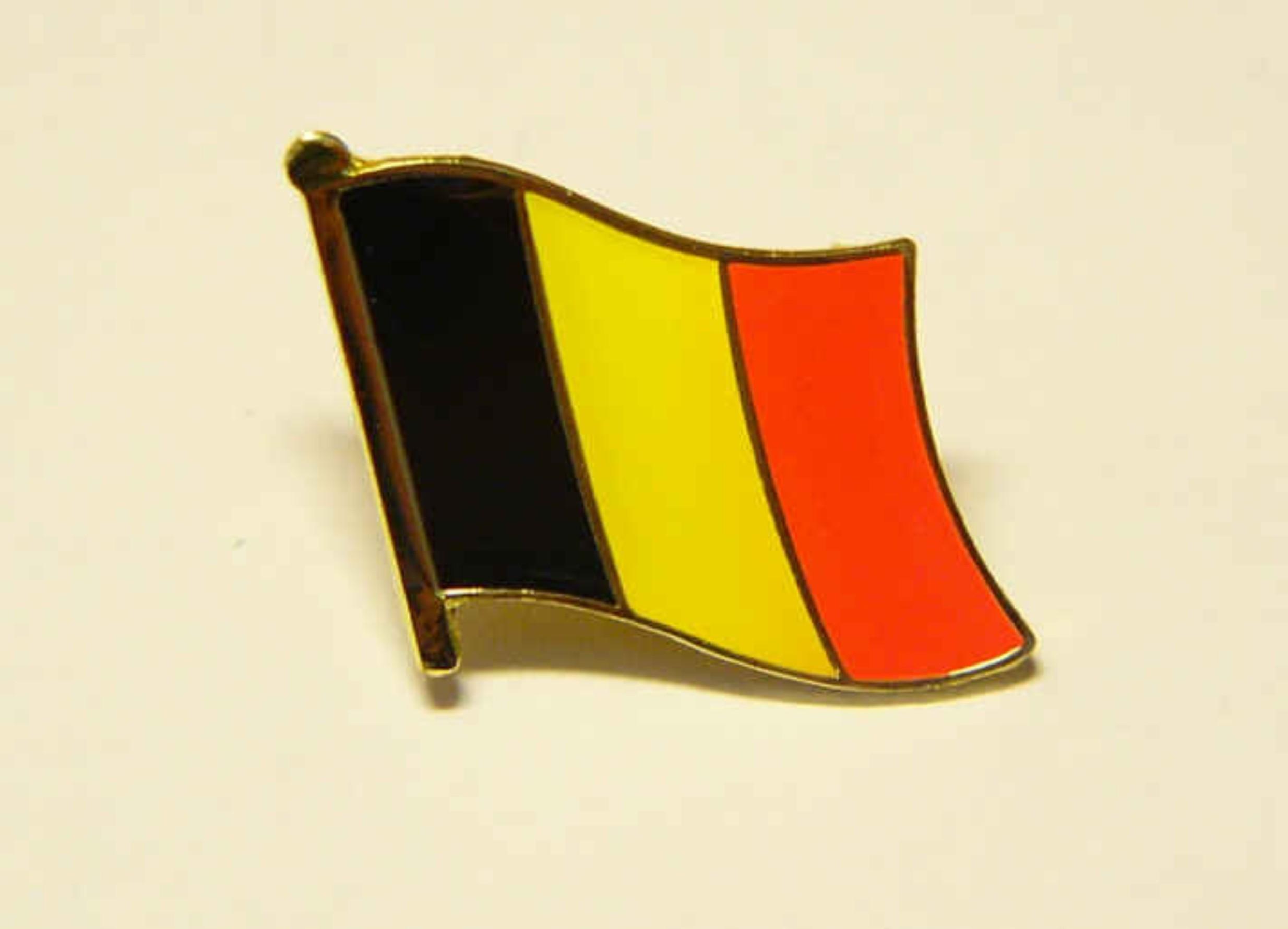 Belgien Flaggenpin
