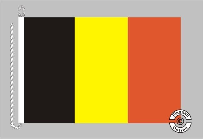 Belgien Bootsflagge