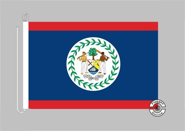 Belize Bootsflagge