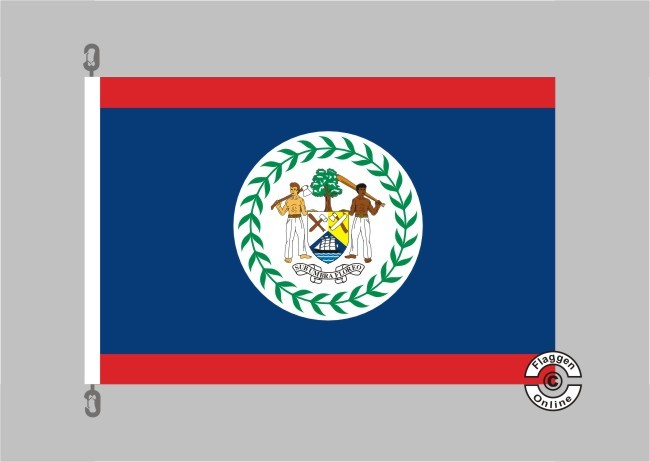 Belice Flagge