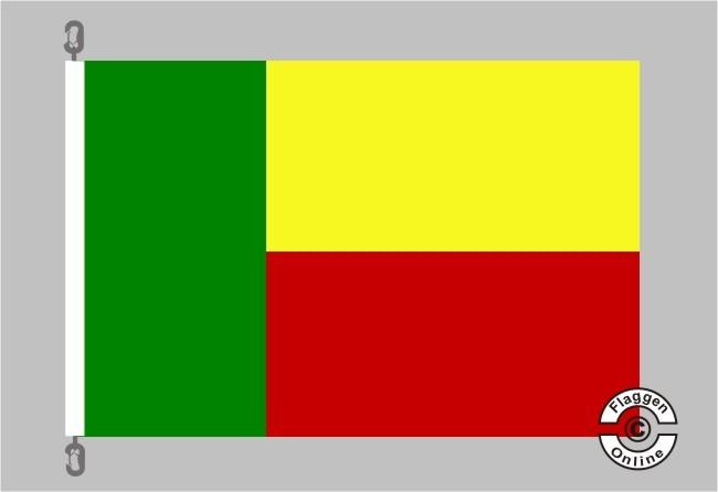 Benin Flagge
