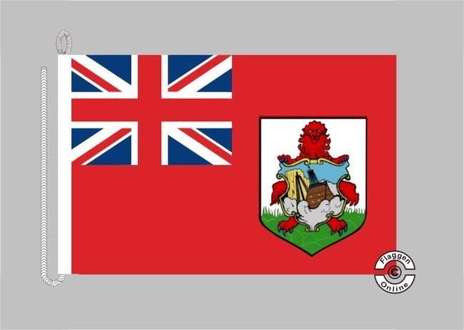 Bermuda Bootsflagge