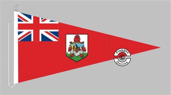 Bermudas Bootsstander Wimpel