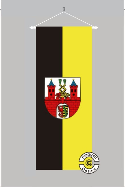 Bernburg Banner Flagge