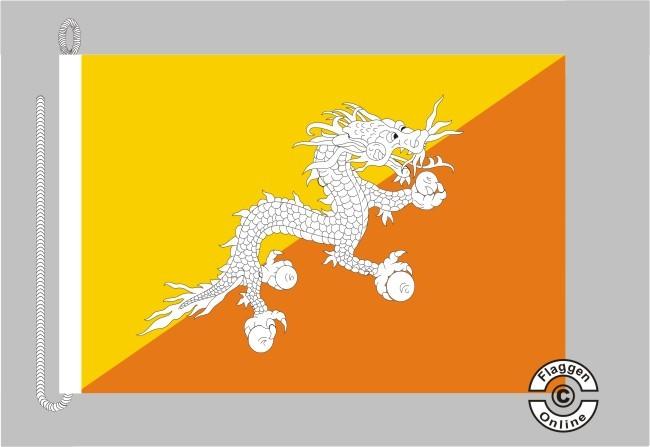 Bhutan Bootsflagge
