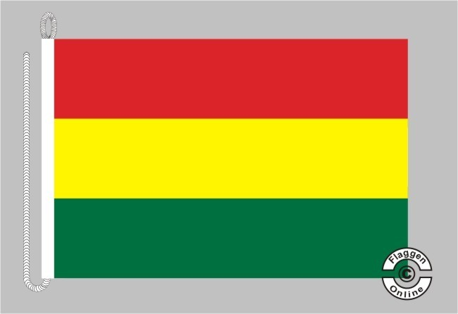 Bolivien Bootsflagge