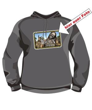 3. Wacken Hooded Shirt mit Eurem Foto oder Logo Border 3
