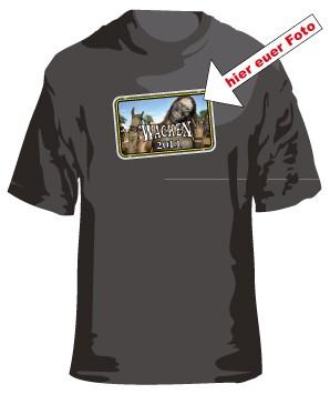 3. Wacken T-Shirt mit Eurem Foto oder Logo Border 3