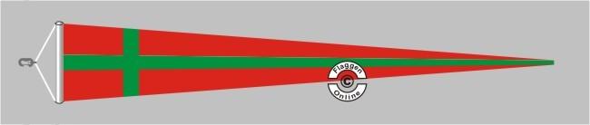 Bornholm Langwimpel mit Querholz
