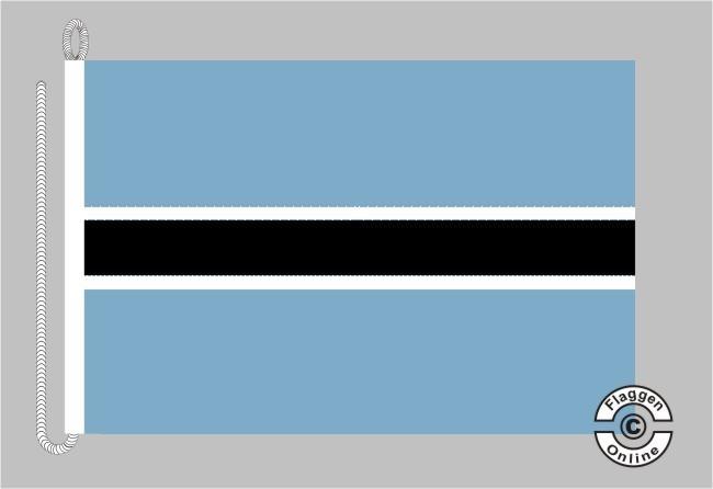 Botswana / Botsuana Bootsflagge