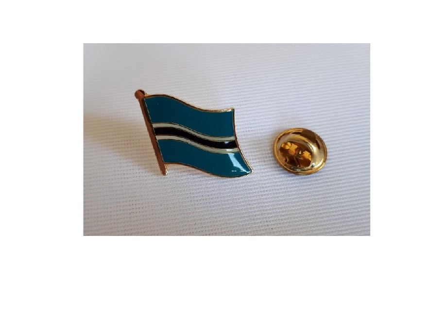 Botswana Flaggenpin