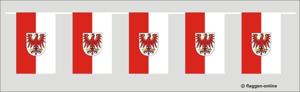 Brandenburg Flaggenkette