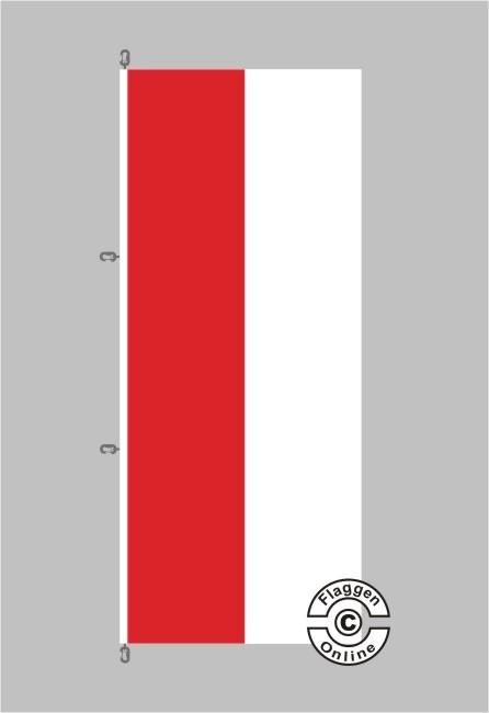 Brandenburg Flagge / Fahne für extreme Windlasten