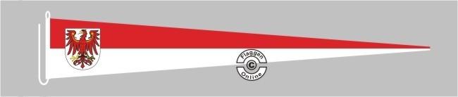 Brandenburg Langwimpel