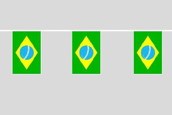 Brasilien Flaggenkette