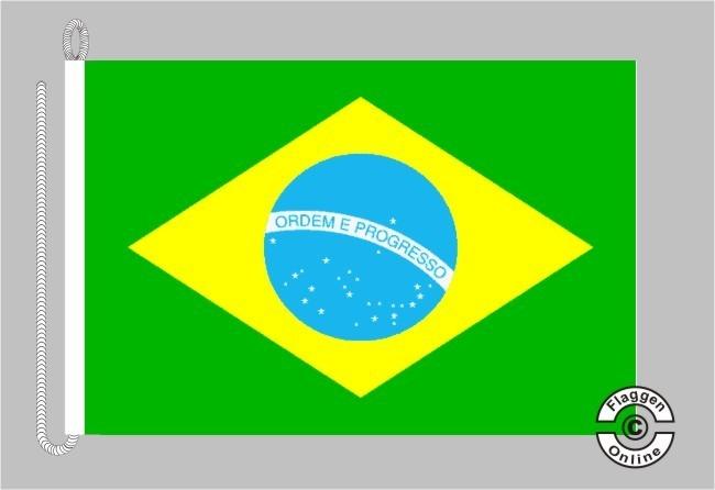 Brasilien Bootsflagge