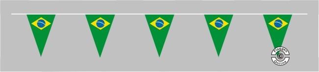 Brasilien Wimpelkette