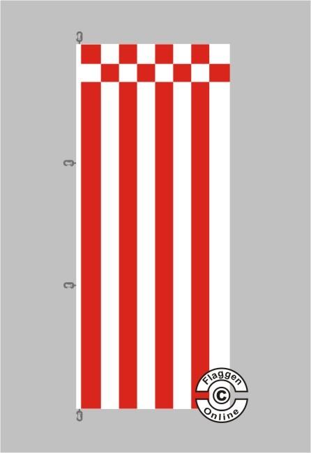 Bremen Flagge / Fahne für extreme Windlasten