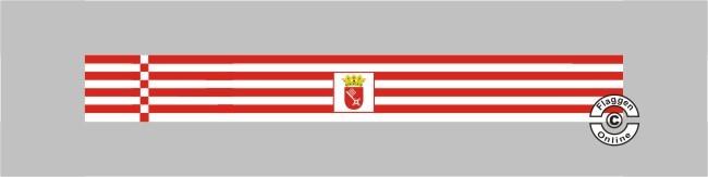 Bremen mit Wappen Tischband