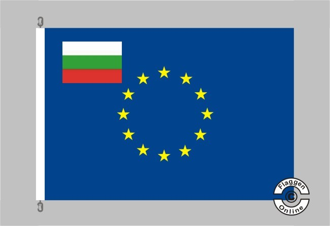 Bulgarien Europa Flagge