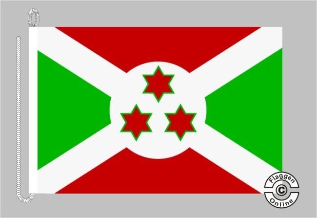 Burundi Bootsflagge