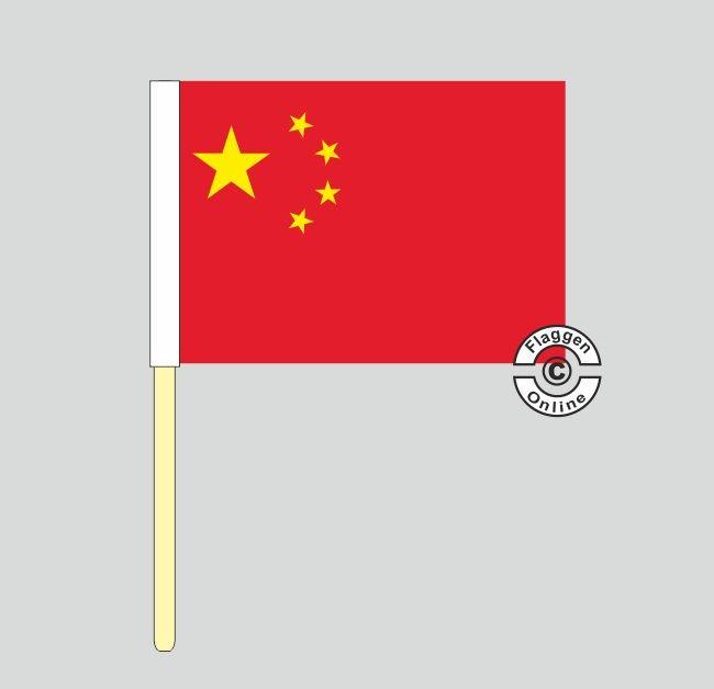 China Stockflagge