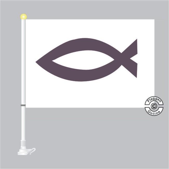 Christenflagge Autoflagge