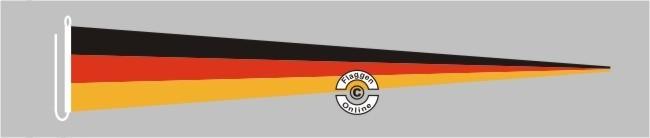 Deutschland Langwimpel