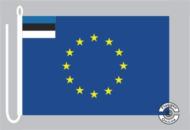 Estland Europa Bootsflagge