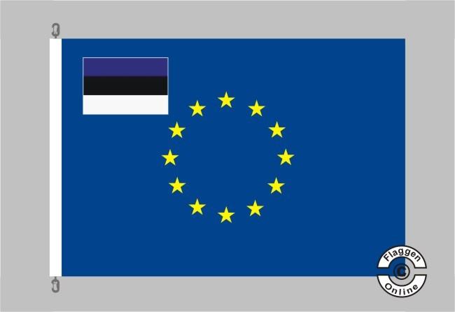 Estland Europa Flagge