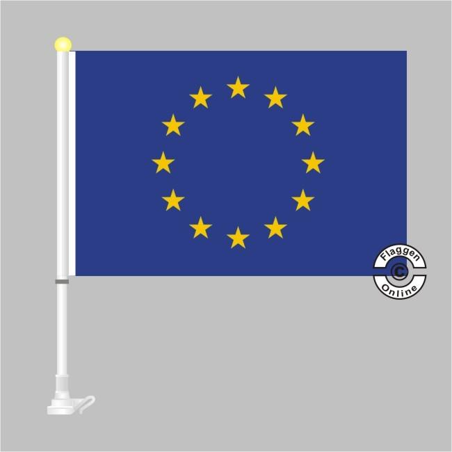 Europa Autoflagge