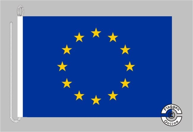 Europa Bootsflagge