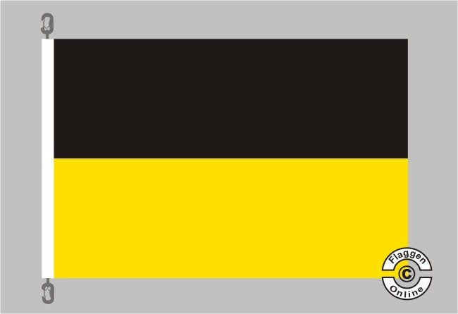 Baden-Württemberg ohne Wappen Flagge