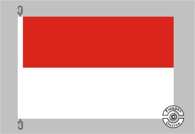 Hessen ohne Wappen Flagge
