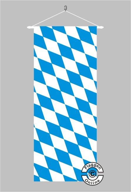 Bayern Raute ohne Wappen Banner Flagge