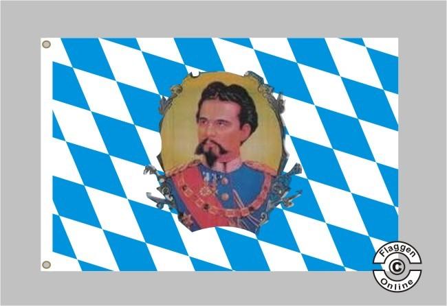 Bayern König Ludwig Flagge
