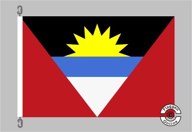 Antigua u. Barbuda Flagge