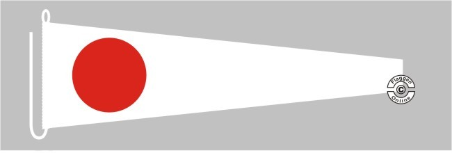Signalflagge 1 ONE  Flagge