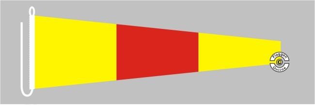 Signalflagge 0 ZERO Flagge
