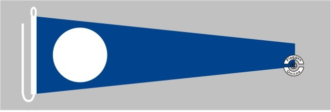 Signalflagge 2 TWO Flagge