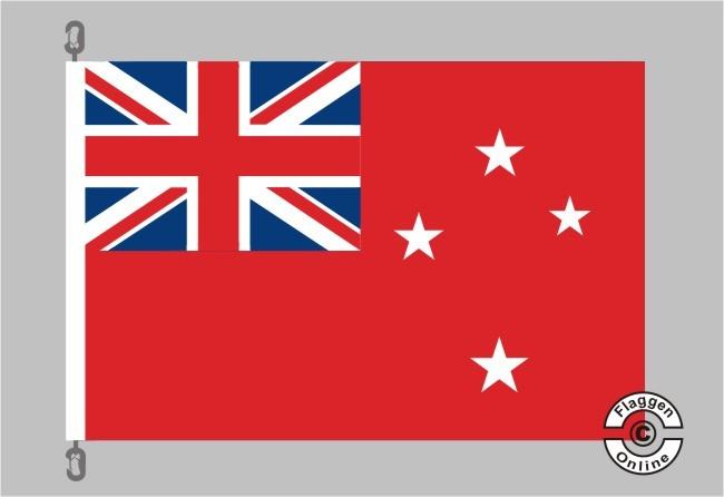 Neuseeland Handel Flagge