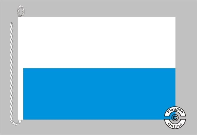 Bayern ohne Wappen Bootsflagge