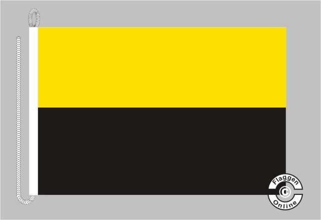 Sachsen-Anhalt ohne Wappen Bootsflagge
