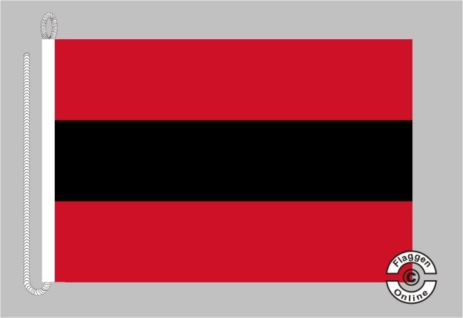 Albanien Handelsflagge Bootsflagge
