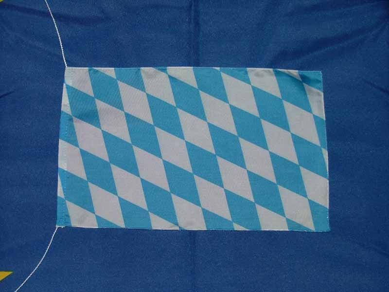 Bayern Raute Tischflagge